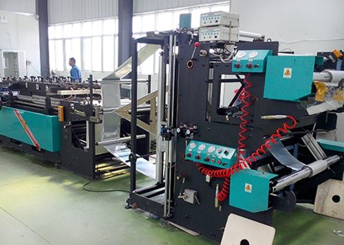 800 high speed bag making with three side sealing