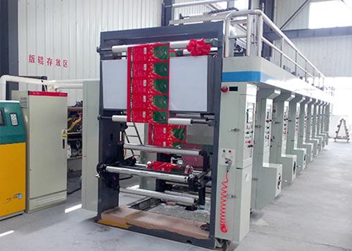 Model 1000 8-color high speed gravure press